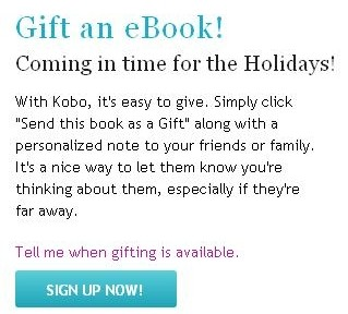 Kobo Beats Amazon, Barnes & Noble, and Sony To eBook Gifting eBookstore