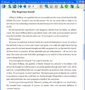 An Example Of Bad eBook Formatting Editorials