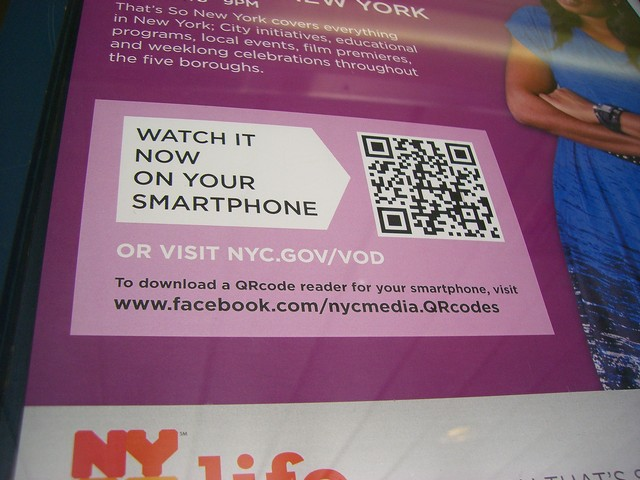 Qr code in staten island ferry ad mike canes xblog click big sciox Choice Image