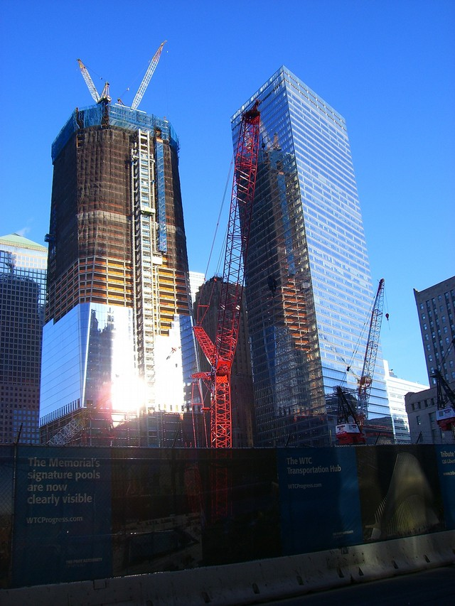 Freedom Tower, April 2, 2011 | Mike Cane's xBlog