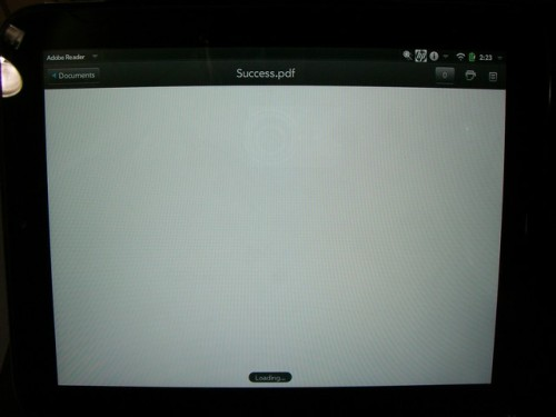 Fondle: HP Touchpad Reviews