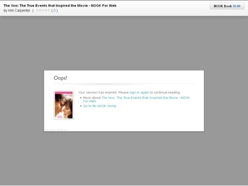 Nook For Web: The Gotcha! e-Reading Software eBookstore