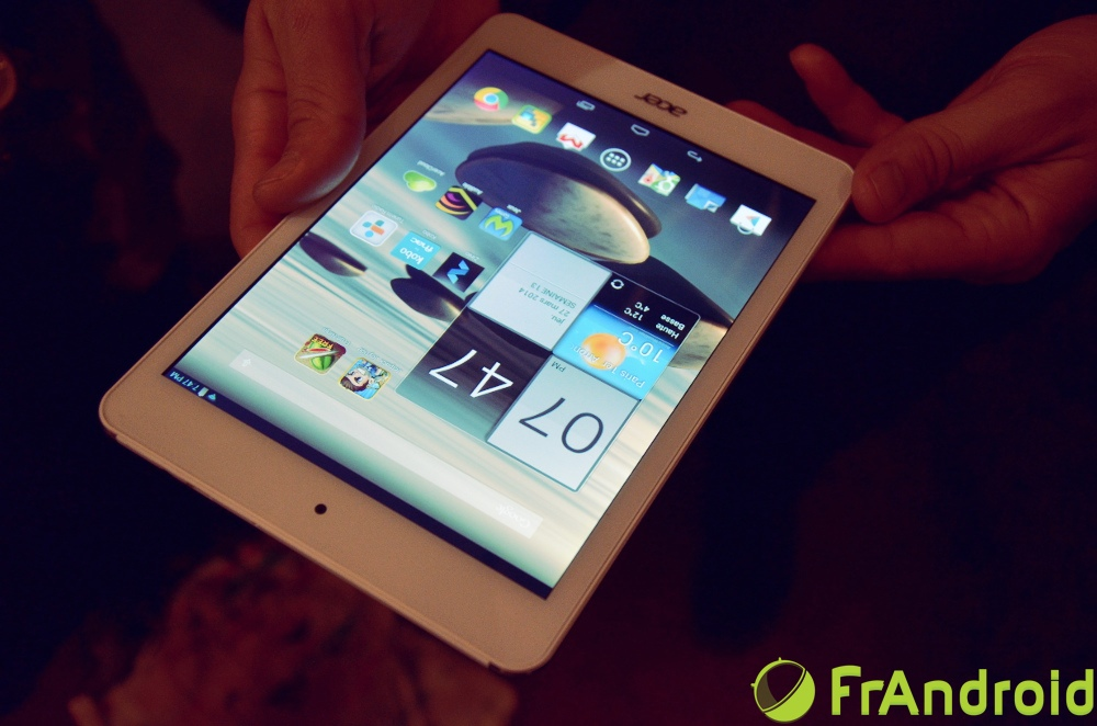 how to put pdf on home screen in acer tablet