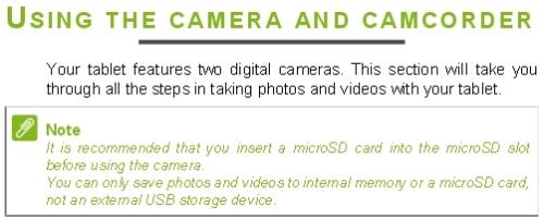 AcerA1830ManualCamera