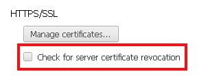 how to fix revoked certificate in google chrome