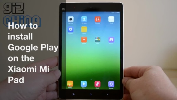 Xiaomi MiPad: Install Google Play, Squash Bugs | Mike Cane's xBlog