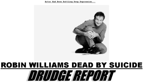 RobinWilliamsRIPDrudge