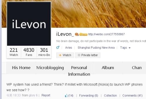 iLevonXiaomiWindowsPhoneWeibo01