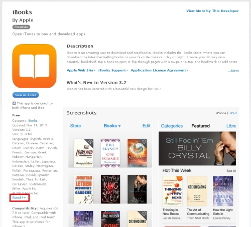 iTunesiBooksAge