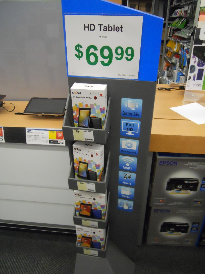 Nobis Tablet Shows Up At Staples Mike Cane S Xblog