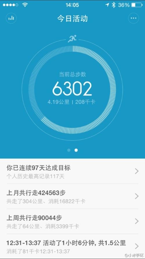 XiaomiMiBandiOSSoftwareWeibo002