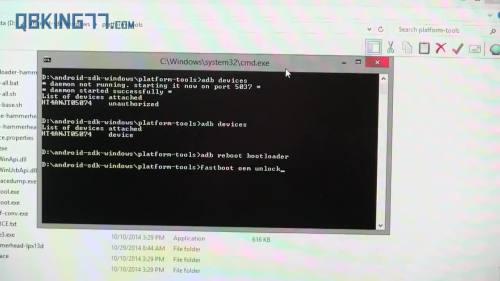 Nexus9UnlockBootloaderYT001