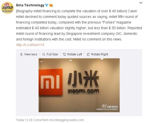 Xiaomi4050BValueWeibo