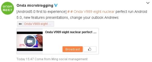 OndaV989Android5QQWeibo