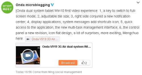 OndaV9193GAirWindows10Weibo01