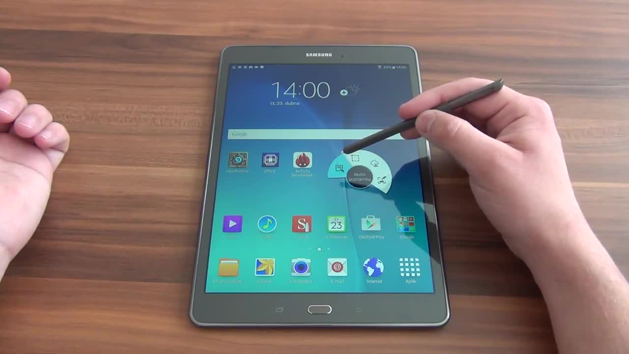 how to open up a samsung galaxy tab s