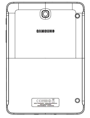 Samsung Galaxy Tab S2 8.0 FCC Drawing