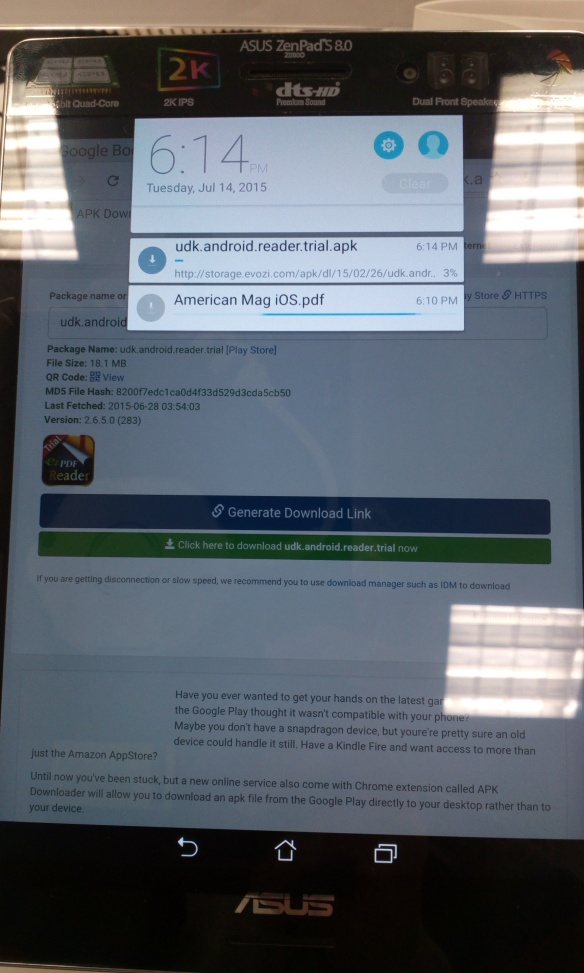 Asus ZenPad S 8 0: First Test   Mike Cane's xBlog