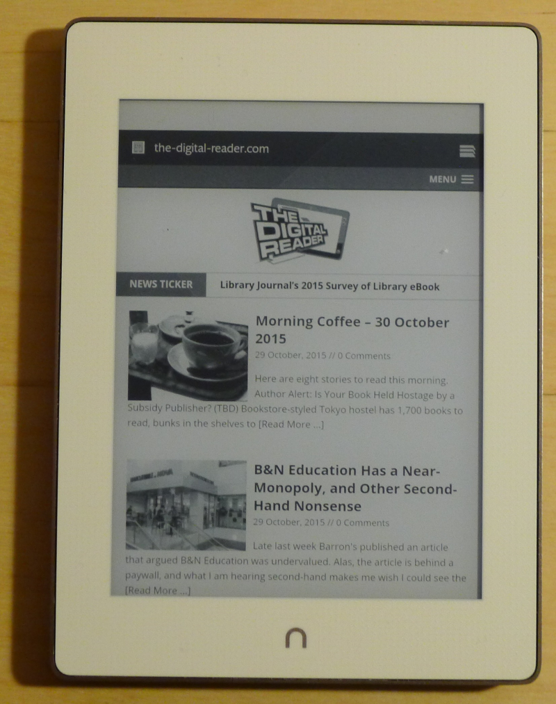Nook Glowlight Plus Rooting Notes #7 | Mike Cane's xBlog