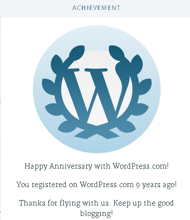 WordPressNINEYears