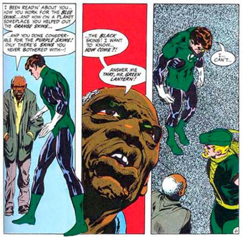 Green Lantern Green Arrow skins lecture
